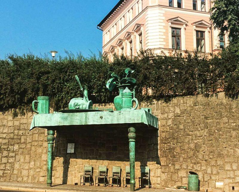Автобусная остановка Sokolská u zdi