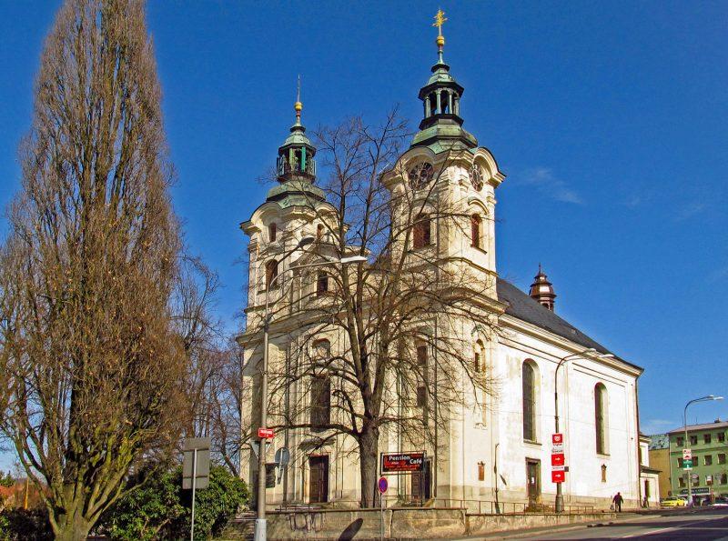 Церковь св. Креста (Kostel Nalezení svatého Kříže)
