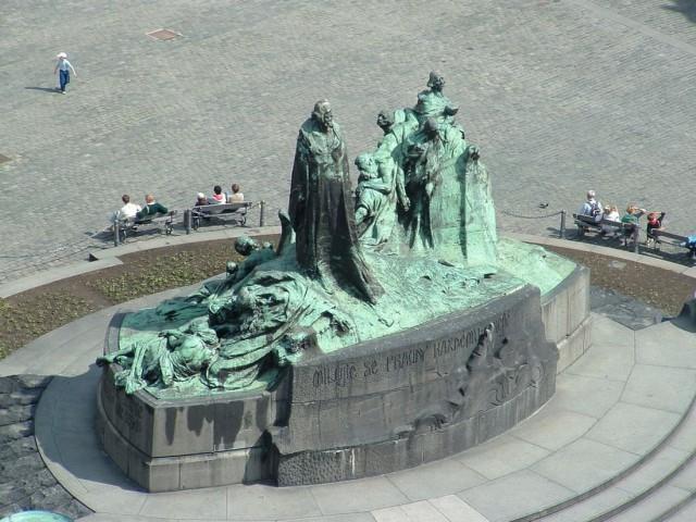 Памятник Яну Гусу (Pomník mistra Jana Husa)