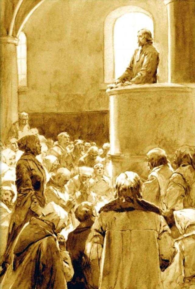 Проповедь Яна Гуса