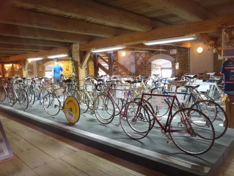 Первый чешский музей велосипедов (První české muzeum cyklistiky)