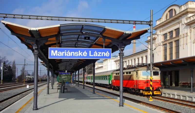 Железнодорожный вокзал в Марианских Лазнях