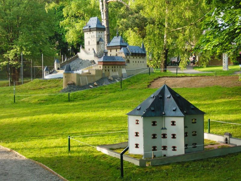 В парке миниатюр «Богеминиум»