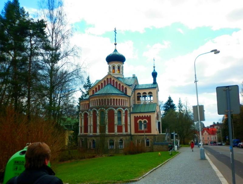 Православная церковь св. князя Владимира на улице Русской