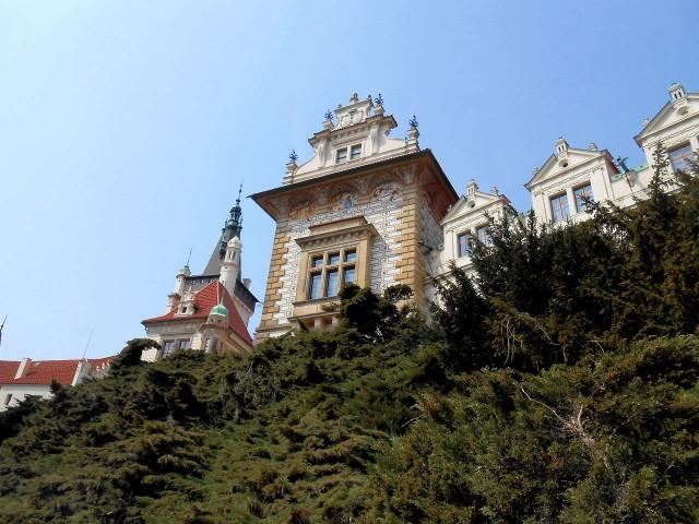 Замок в стиле ренессанс