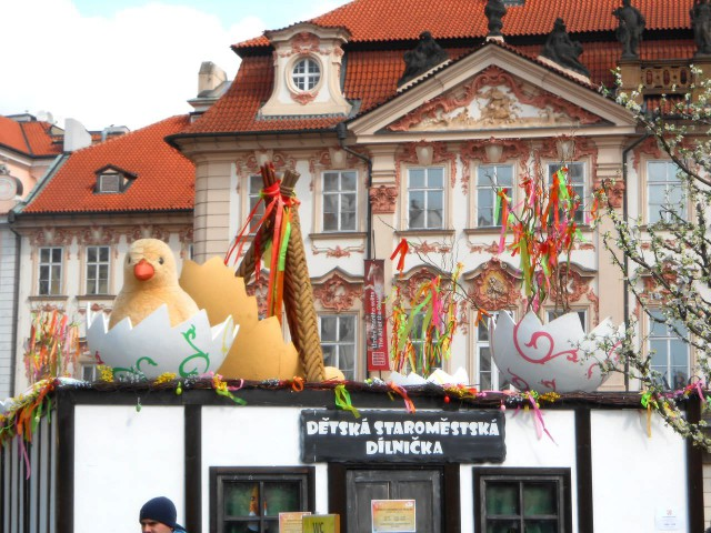 Пасхальный рынок, Прага
