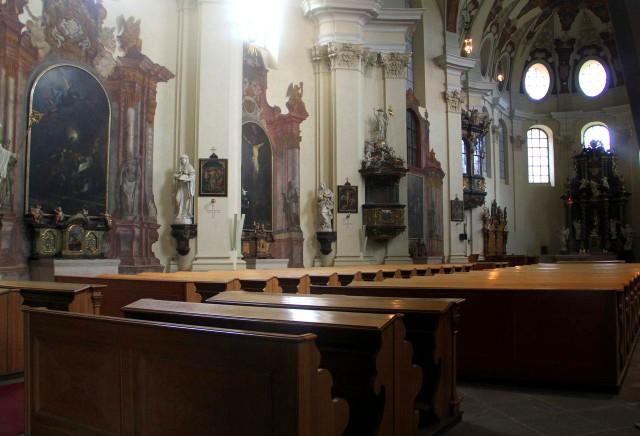 Интерьер Базилики святой Маркеты