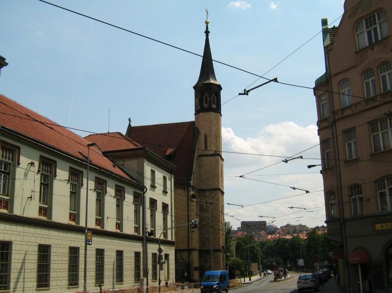 Храм Благовещения Пресвятой Богородицы на Слупах (Kostel Zvěstování Panny Marie Na slupi)