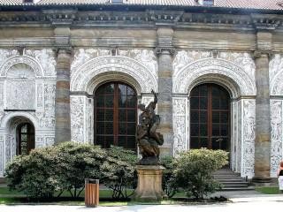 Зал для игры в мяч «Мячовна» в Королевском саду на Пражском Граде