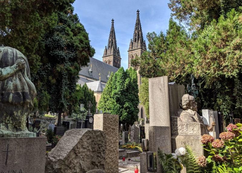 Вышеградское кладбище