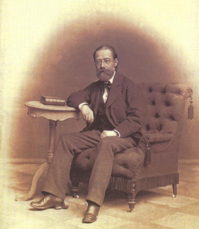 Одна из последних фотографий Бедржиха Сметаны, 1882 г.