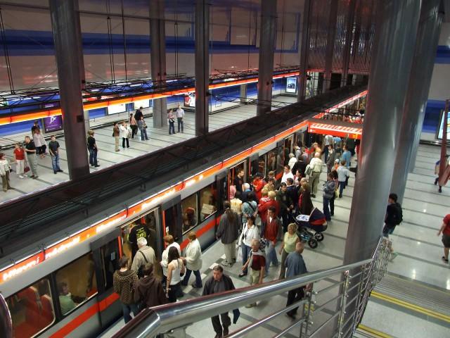 Станция пражского метро Prosek
