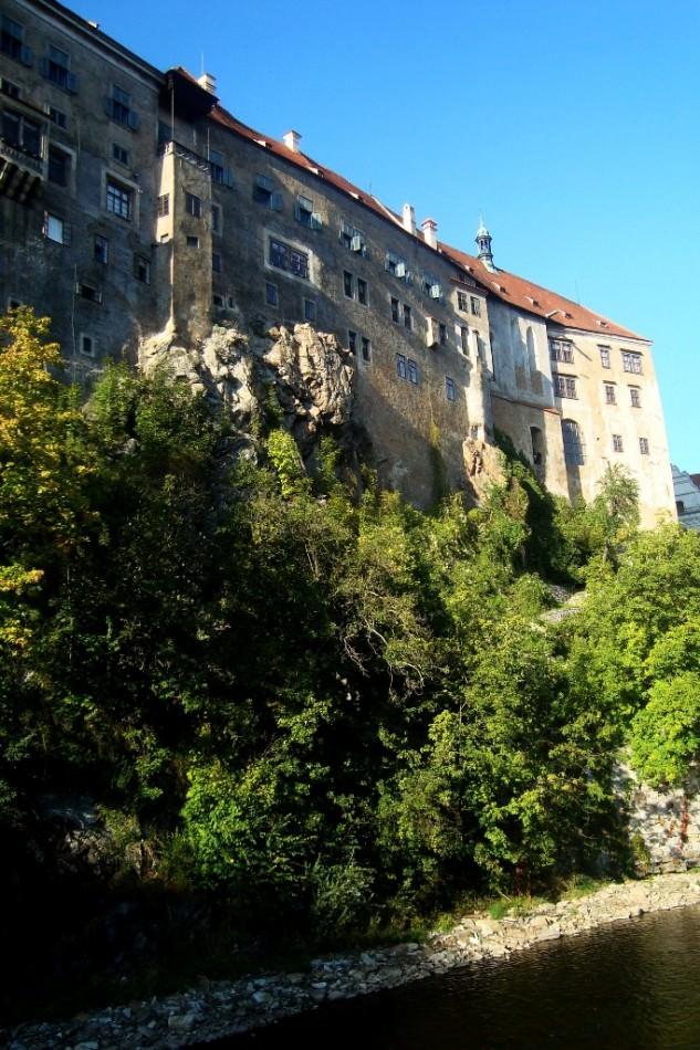 Крумлов. Замок на скале