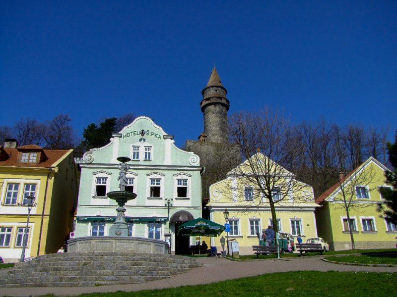 Крепости Штамберк (hrad Štramberk)