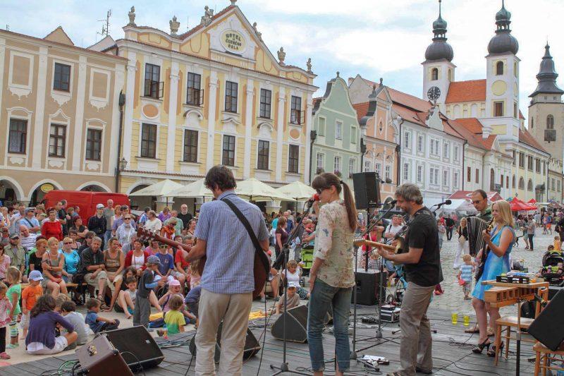 Музыкальный фестиваль Prázdniny v Telči