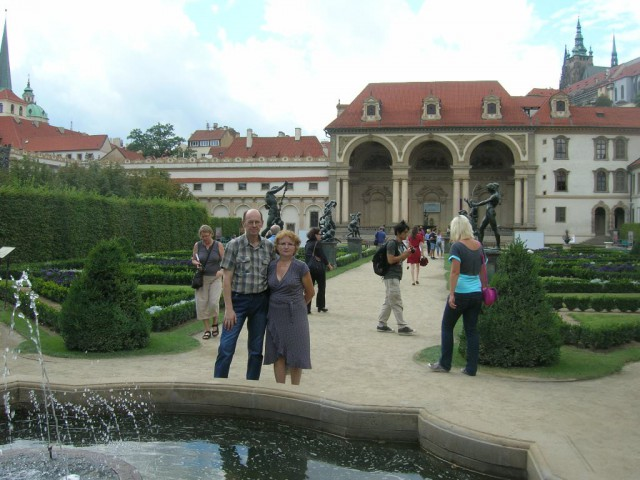 Вальдштейнский дворцово-садовй комплекс