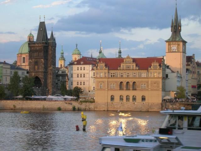 Прага с воды