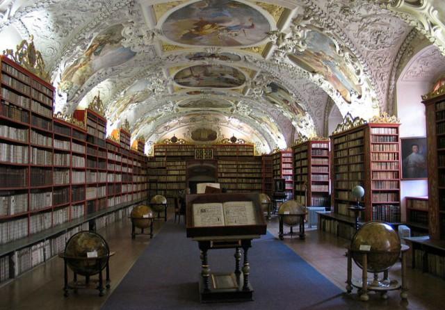 Библиотека в Страгове
