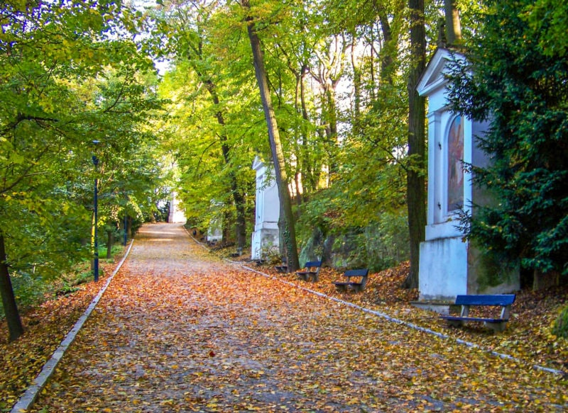 Крестный путь на Петршине (Křížová cesta na Petříně)