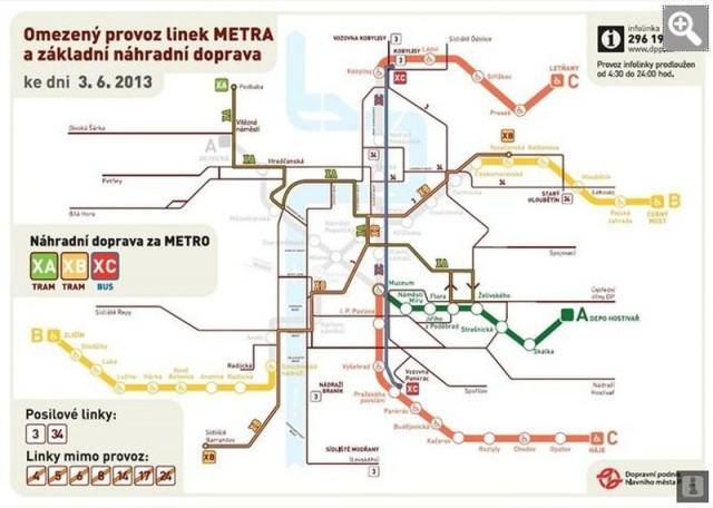 Движение метро на 03.06.13