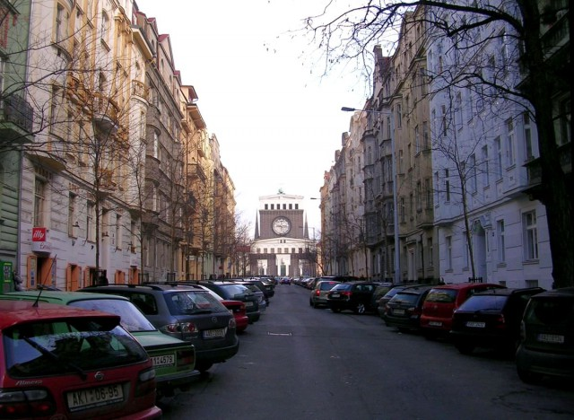 Улица Манесова (Mánesova)