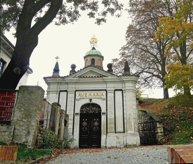 Часовня св. Девы Марии в Крепости (Kaple Panny Marie Šancovské  v hradbách)