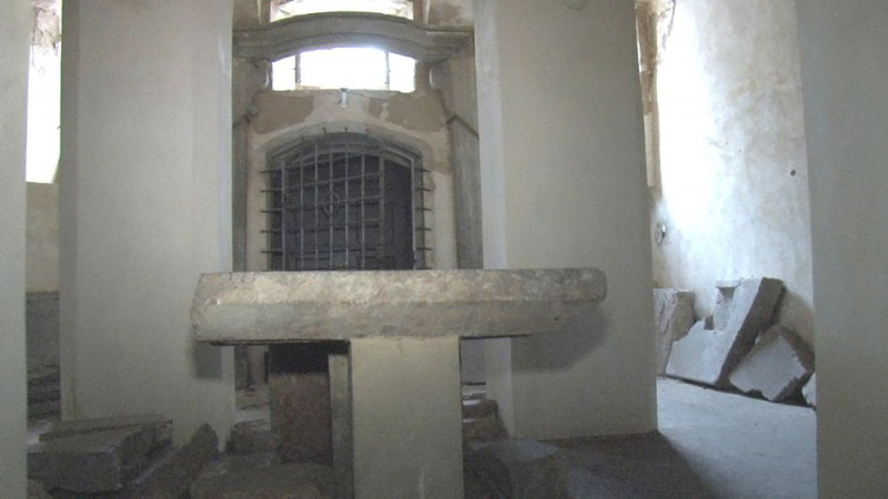 Интерьер церкви Усекновения главы Иоанна Предтечи (Kostel Stětí sv. Jana Křtitele)