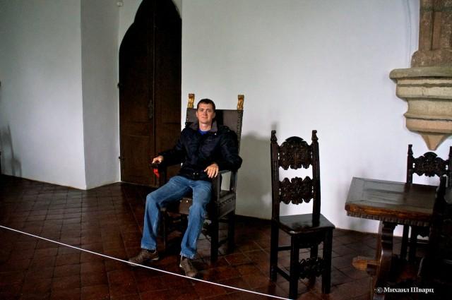 Я посидел на троне