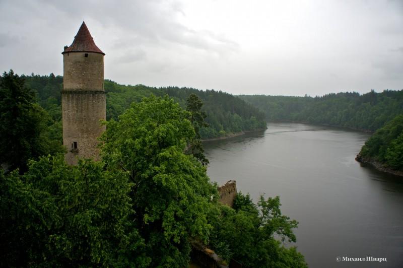 Гласка – самая высокая из башен замка Звиков
