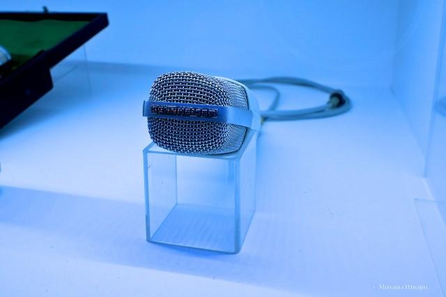 Микрофон Sennheiser, дизайн опередивший время