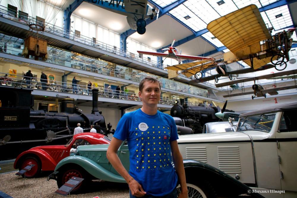 Выставка Транспорт. Национальный технический музей Праги