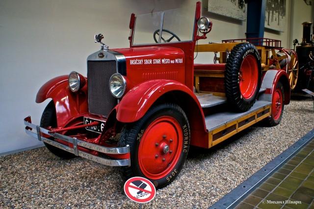 Машина пражских пожарных