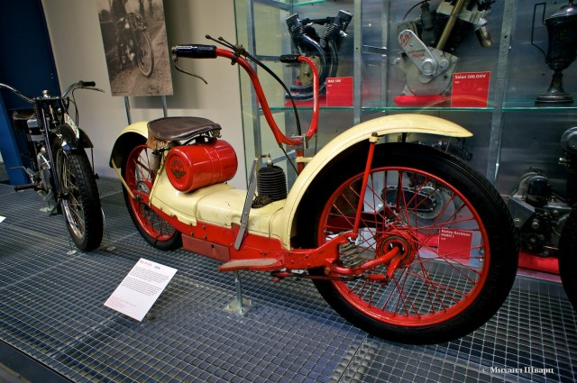Американский мотоцикл Ner-A-Car 1924 года