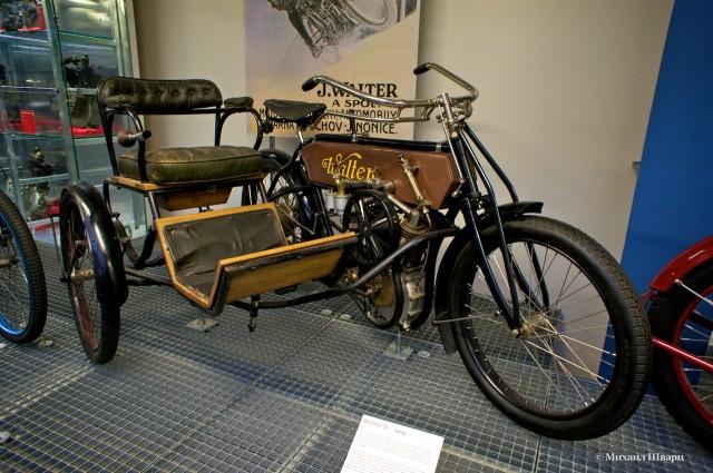 Walter B – мотоцикл с коляской