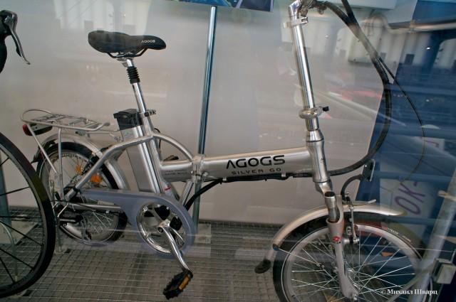 Электровелосипед Agogs