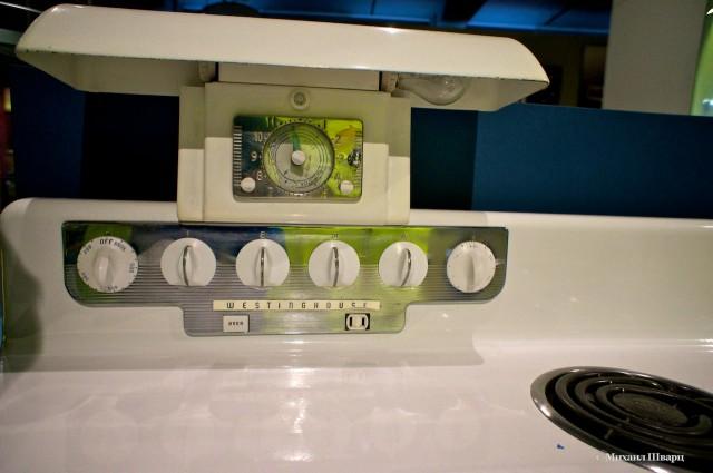 Удобная приборная панель управления плитой