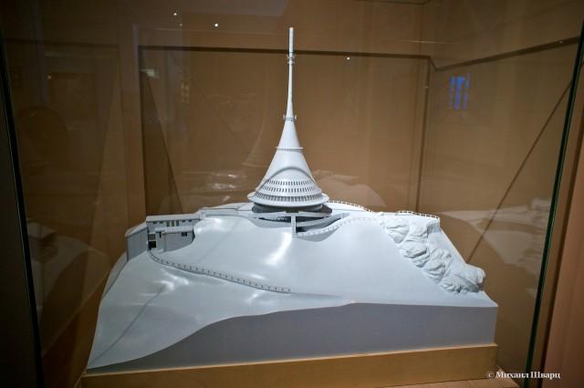 Макет телевизионной башни
