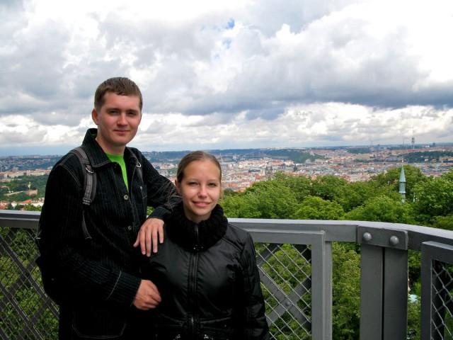 прогулка по Петршинскому холму