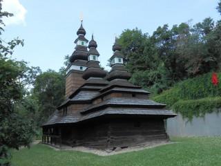 Костёл Святого архангела Михаила в садах Кинских. «Странствующий» храм.