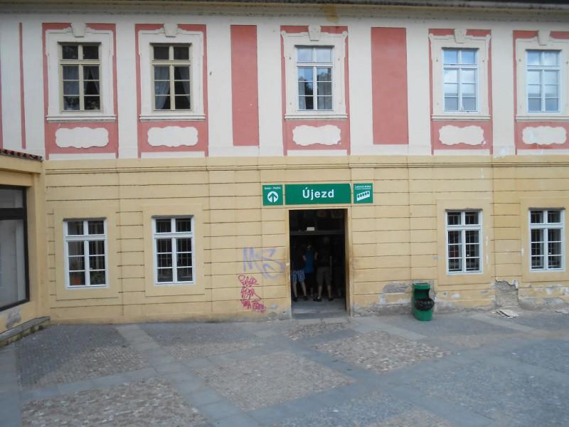 Станция фуникулера «Уезд» (Ujezd)