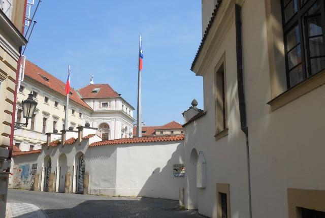 Вход в Михнов дворец (Michnův palác)