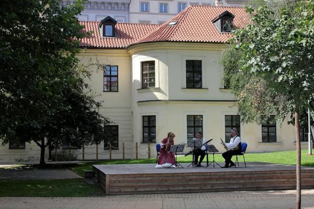 В парке дворца Портгеймка