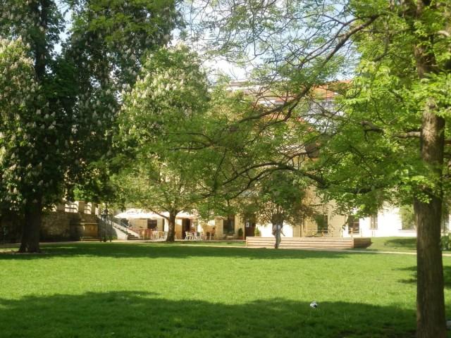 Парк дворца Портгеймка