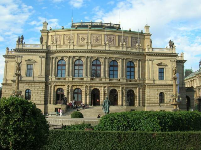 Здание Рудольфинума в Праге