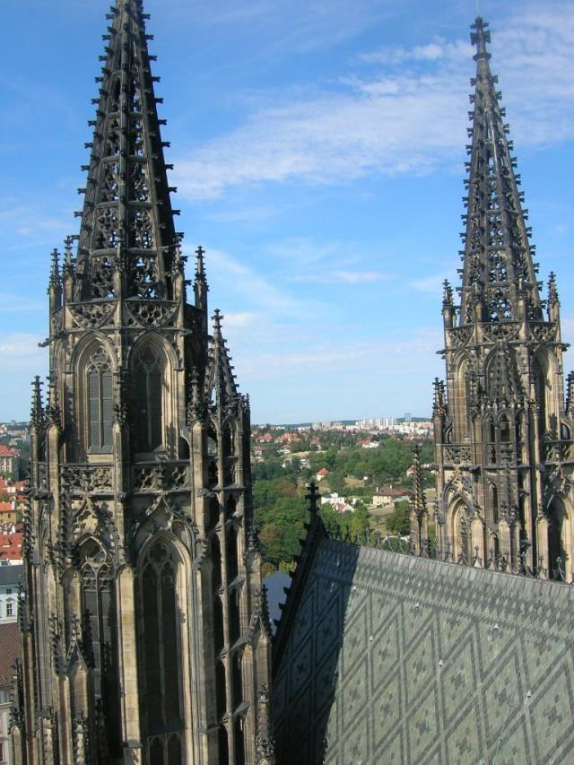 Башни собора святого Вита
