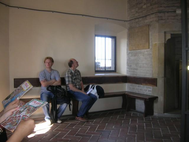 В Южной башне собора святого Вита