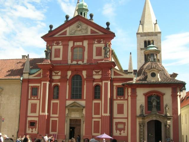 Базилика святого Георгия в Пражском Граде