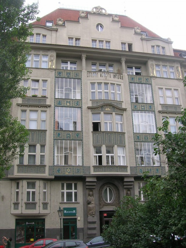 Здание в пражском районе Йозефов