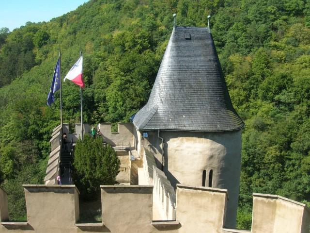 Колодезная башня замка Карлштейн