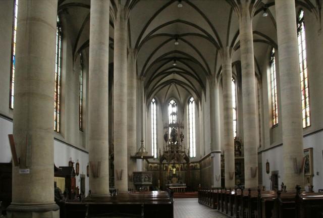 Интерьер церкви св. Антония Падуанского